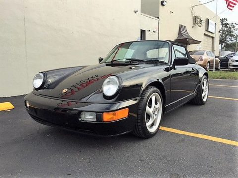 NICE 1991 Porsche 911 2dr Coupe 2 Cabriolet for sale