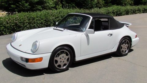 AMAZING 1990 Porsche 911 Cabriolet for sale