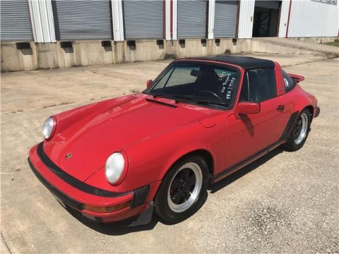 1987 Porsche 911 Carrera G50 Targa for sale