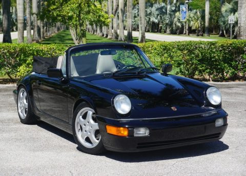 1990 Porsche 911 964 Carrera 4 Cabriolet for sale
