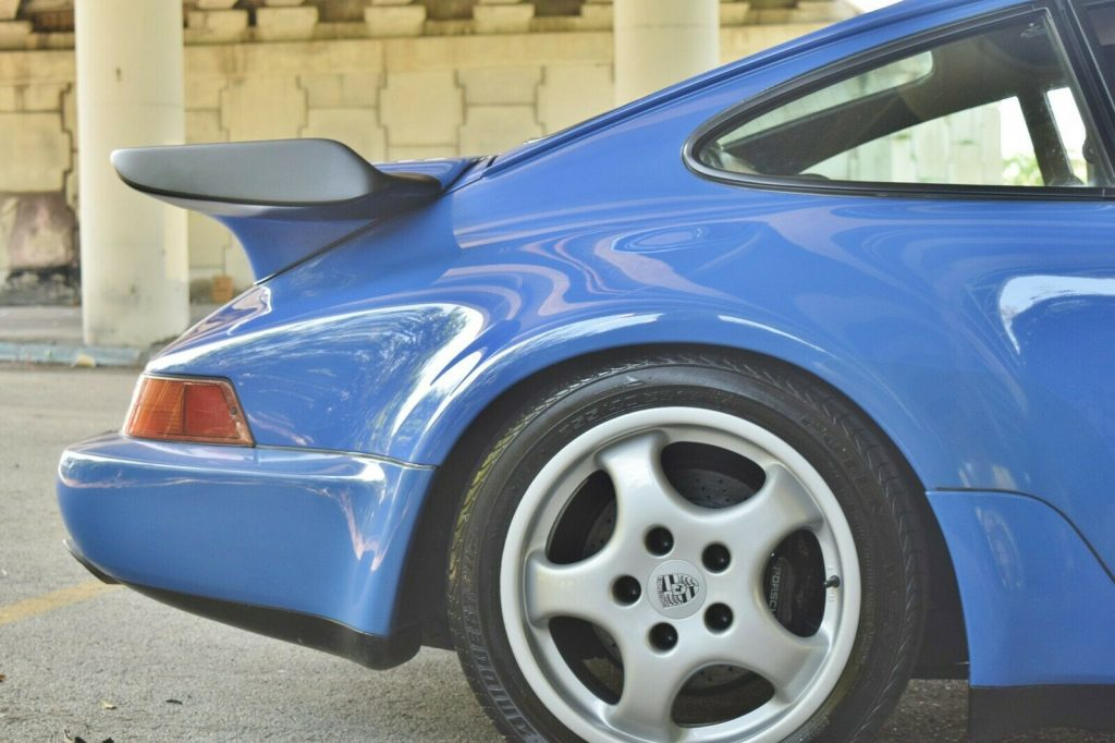 1991 Porsche 911 964 Turbo Fresh Engine out Service